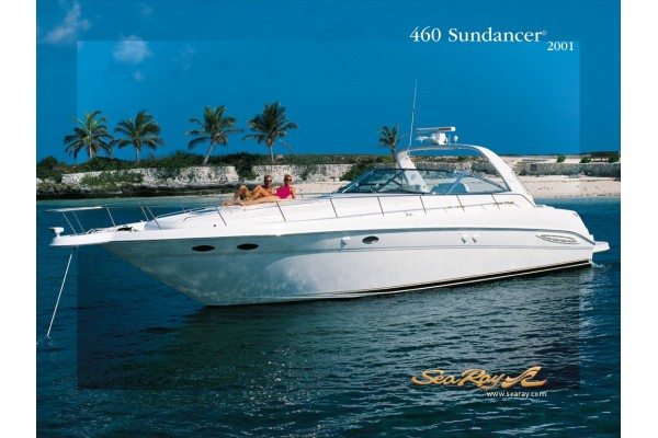 "46' SEA RAY 460 SUNDANCER (2001) ""VK"" *LLC*"