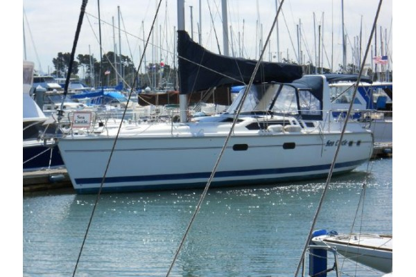 1997 43 Hunter 430 For Sale In Long Beach Alamitos Bay