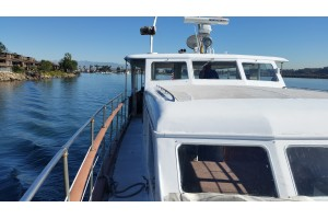 60' BURGER MOTOR YACHT (1957) SOLD!