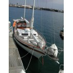 "54' KETCH CT AUXILIARY DIESEL SAILBOAT CHARTER ""SIREN"""