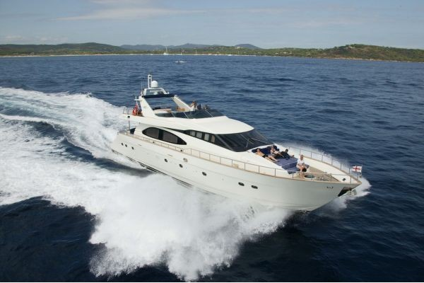 "85' AZIMUT 85 ULTIMATE (2001) ""KIWI DREAMS"" *LLC*"