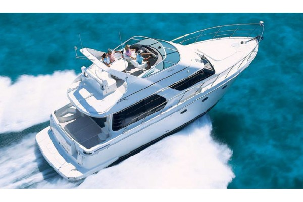 """46' CARVER 45 VOYAGER PILOTHOUSE (2005) """"MARCH MADNESS"""""""