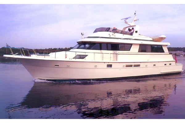 1989 70 39 hatteras 70 cockpit motor yacht for sale in san