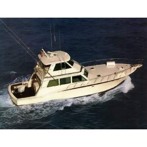 60' HATTERAS CONVERTIBLE ENCLOSED BRIDGE W/TOWER (1983)