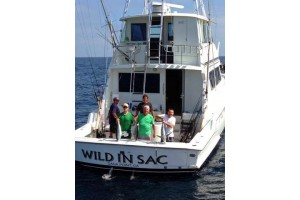 "65 HATTERAS LUXURY CHARTER ""WILD IN SAC"""