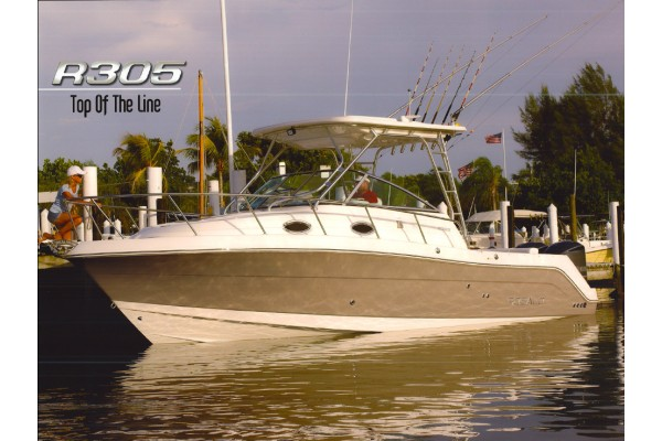 30' ROBALO R305 WALKAROUND (2008) OFF MARKET