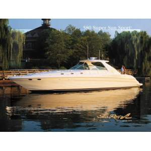 58' SEA RAY 580 SUPER SUN SPORT (2002)