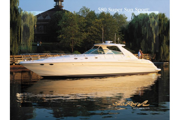 "58' SEA RAY 580 SUPER SUN SPORT (2002) ""FIVE CARAT"""