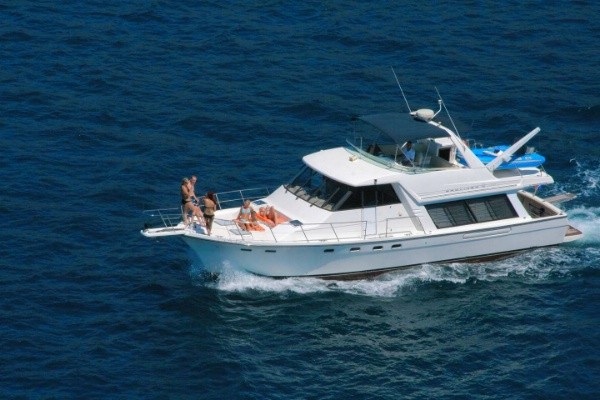 1996 47 bayliner 4788 pilothouse motoryacht for sale in long beach ca