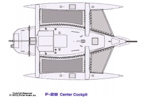 28' CORSAIR F-28 CENTER COCKPIT (2002)