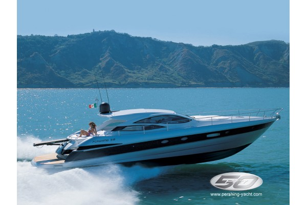 "50' PERSHING 50 (2005) ""CATCH ME IF YOU CAN"""