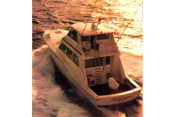 "60' HATTERAS 60 CONVERTIBLE (1978) ""REEL ACTION"""