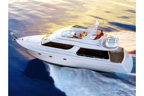 """53' CARVER 530 VOYAGER PILOTHOUSE (2003) """"BAD BUOY"""""""