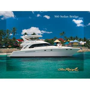 "56' SEA RAY 560 SEDAN BRIDGE (2001) *LLC* ""FAN SEA II"""