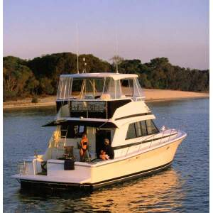 43' RIVIERA 43 FLYBRIDGE CONVERTIBLE (2002)
