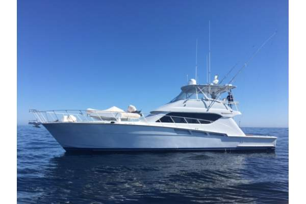 60 39 hatteras 60 sportfishing charter in dana point for Hatteras fishing charters