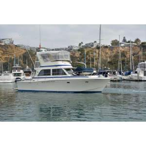 "38' CHRIS-CRAFT 382 COMMANDER (1985) ""ISLAND CHASER"""