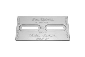 SEA SHIELD MARINE Diver's Dream Anode Plate