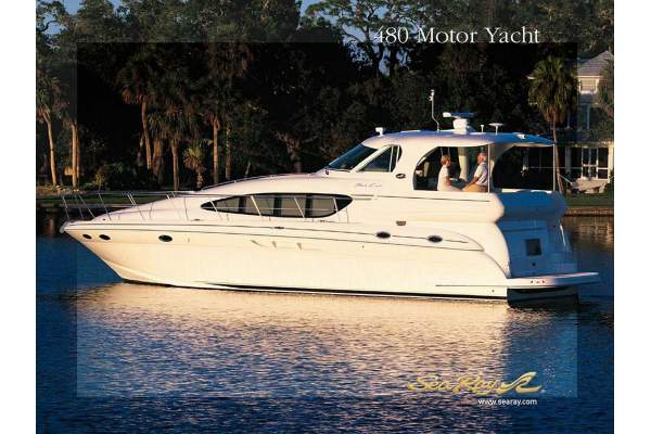 48' SEA RAY 480 MOTOR YACHT (2003) 50% OWNERSHIP *LLC*