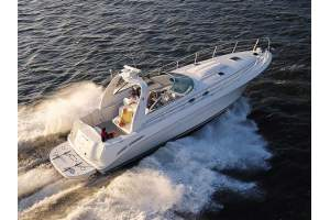 "41' SEA RAY 410 EXPRESS CRUISER (2003) ""GOT WATER"""