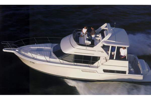 "40' CARVER 400 COCKPIT MOTOR YACHT (1998) ""NEVER ENOUGH"""