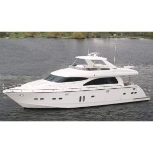 "73' HORIZON 73 LUXURY MOTOR YACHT (2007) ""BLIND FAITH"""