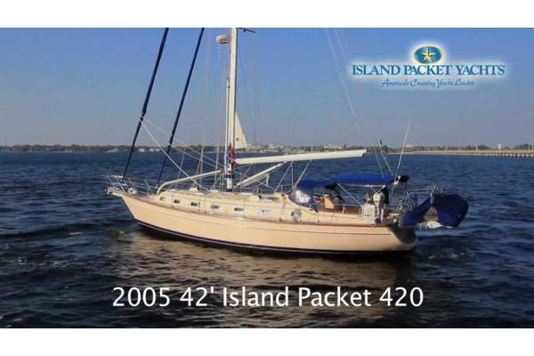 "42' ISLAND PACKET 420 (2005) ""ISLAND GIRL"""
