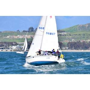 """32' CATALINA 320 SAILBOAT CHARTER """"OUT OF THE BLUE"""
