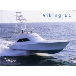 "61' VIKING YACHTS CONVERTIBLE (2005) ""SABABA"" *LLC*"