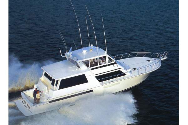 "60' VIKING COCKPIT SPORTS YACHT (2000) ""SELINE"""