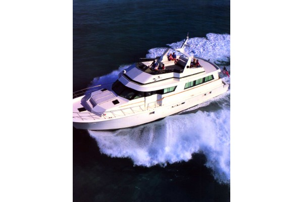 "70' HATTERAS 70 SPORT DECK YACHT (1996) ""IMAGINE"" *LLC*"