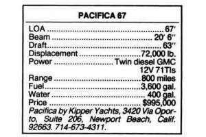 "67' PACIFICA 67 CONVERTIBLE (1985) ""CHEAPER THAN RACING"" *REMODELED*"