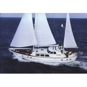 "63' CHEOY LEE 63 MOTORSAILER (1986) ""NIGHT WINDS"""