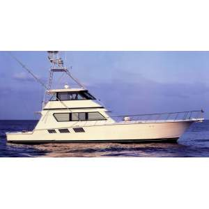 "65' HATTERAS 65 CONVERTIBLE ENCLOSED BRIDGE (1996) ""TRIPLE SEVEN"" *LLC*"