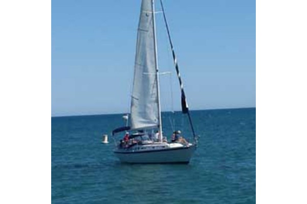 "34' ERICSON SLOOP SAILBOAT CHARTER ""LADY AND THE TRAMP"""