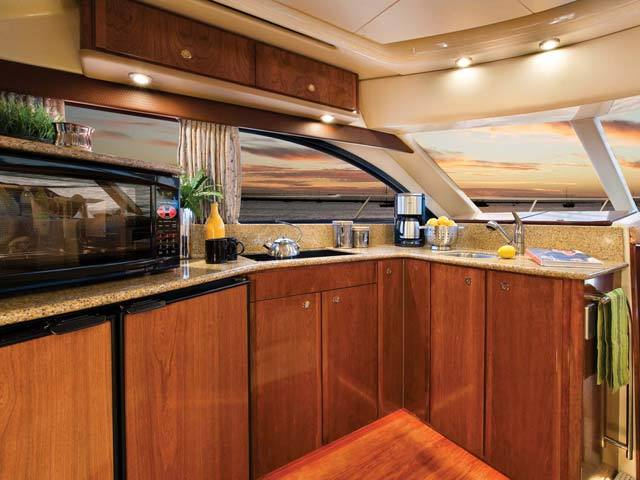Meridian 411 Sedan Galley