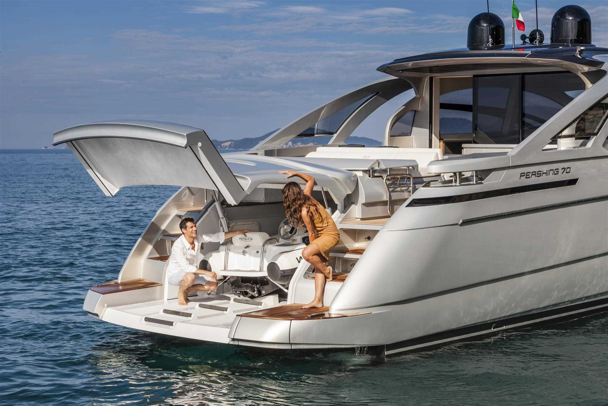 2018 Ferretti Yachts Pershing 70 for sale