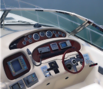 2000 Sea Ray 380 Sundancer Helm