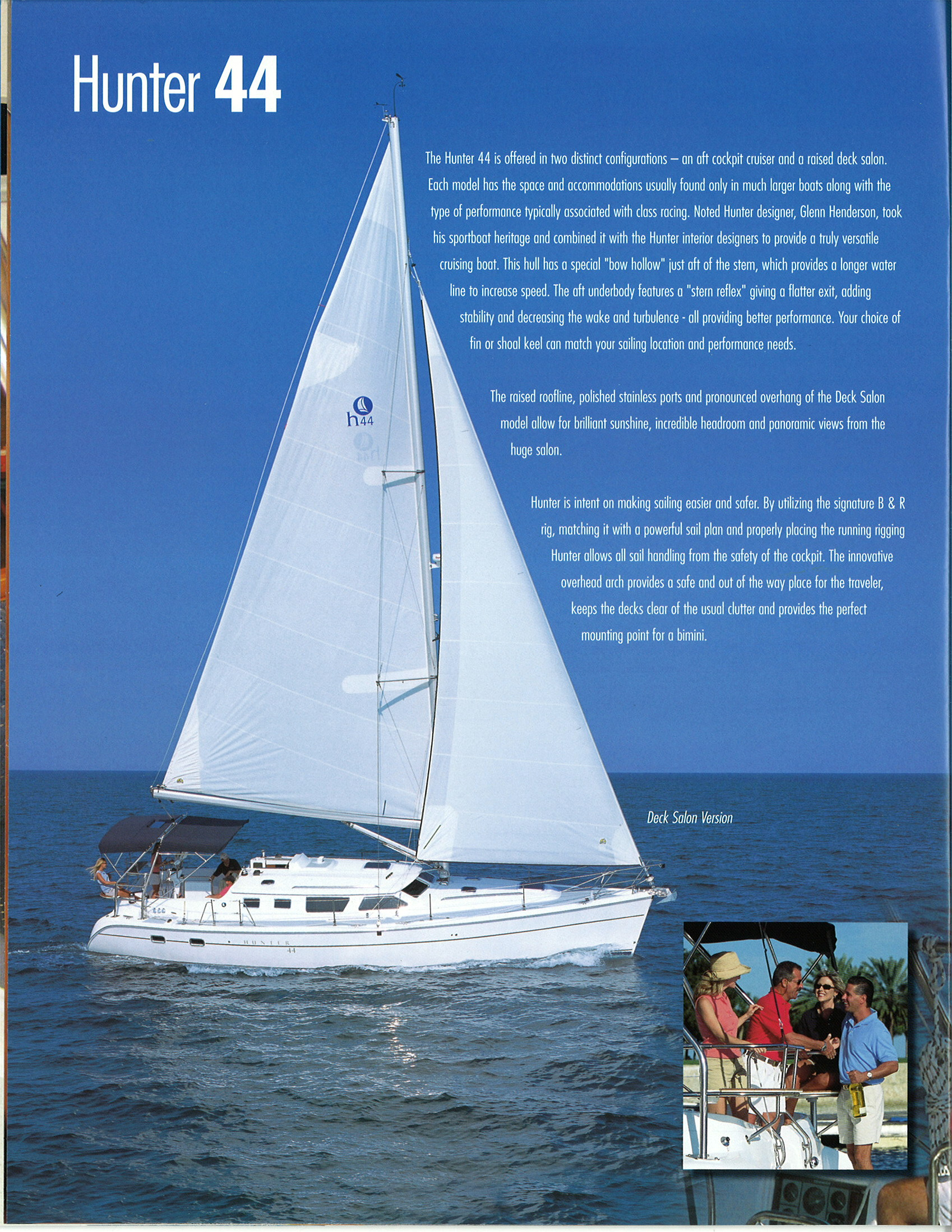 Hunter 44 Brochure