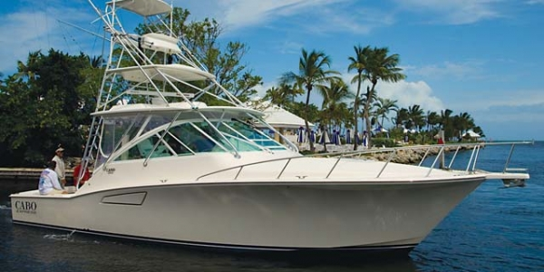 Santa Bring Me A New Cabo 40 -The Red Sled Motorboating By Captain Stuart Reininger