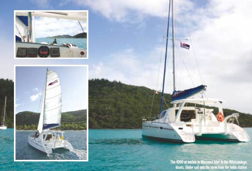 It's A Top Cat: Review of the Leopard 40 Catamaran (Moorings 4000)