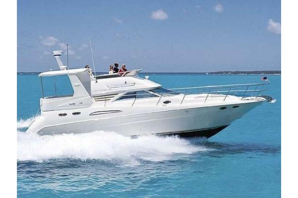 "42' SEA RAY 420 AFT CABIN (1997) ""ON THE BEACH ALOHA"""