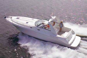 40' SEA RAY 400 SUNDANCER (1999) WITH HYD. LIFT