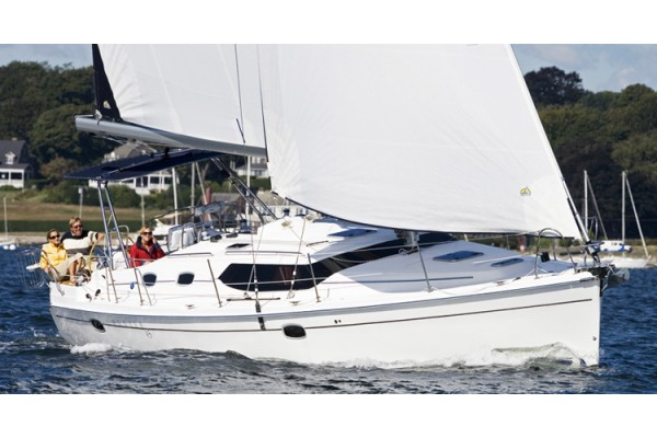 "45' HUNTER 45 DECK SALON (2008) ""LANI KAI"""