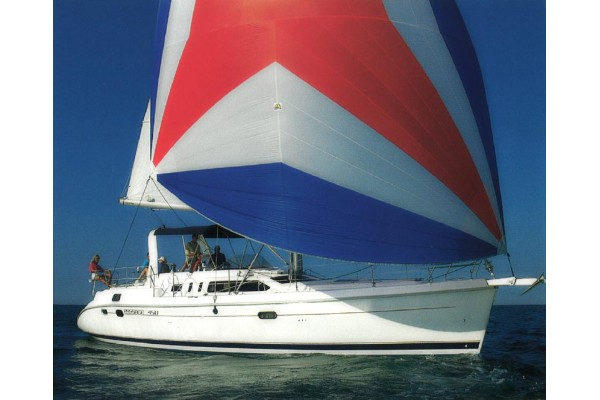 1998 Hunter 450 Center Cockpit Sailboat for sale in San Diego CA