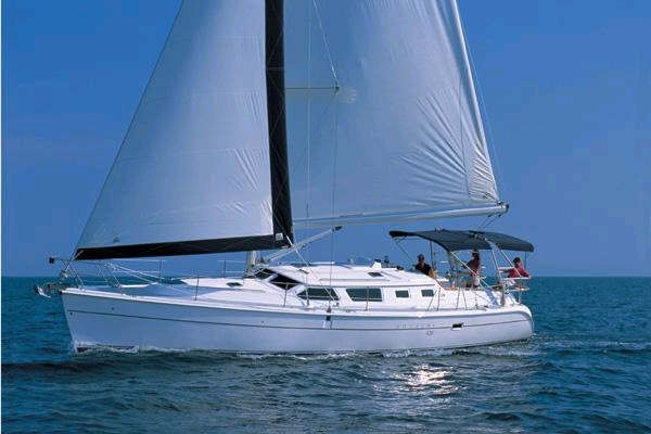 "44' HUNTER 44DS DECK SALON (2007) ""SEA OZ"""