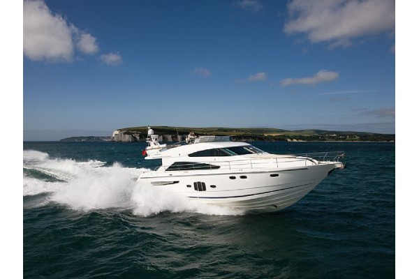 """55' FAIRLINE SQUADRON 55 (2010) """"MISS JUDY"""""""