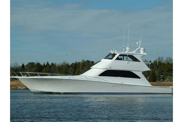 68' VIKING YACHTS ENCLOSED BRIDGE (2006) OFF MARKET