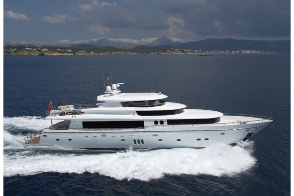 ⚓105' JOHNSON 105 MOTOR YACHT (2008) OFF MARKET
