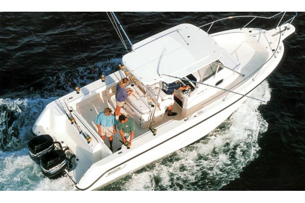 1999 28' BOSTON WHALER 28 OUTRAGE for sale in San Diego California